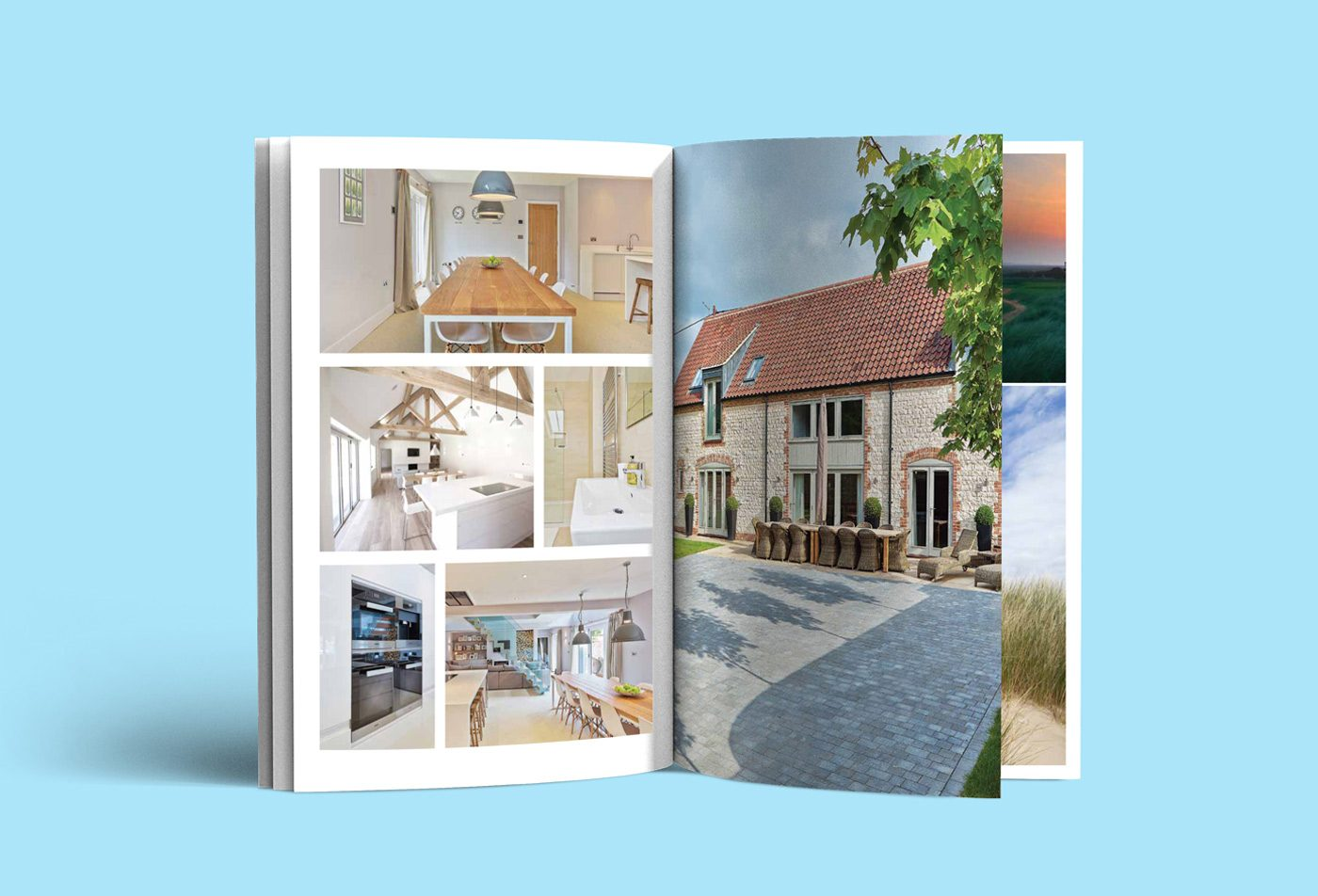 Corner House Brancaster – property brochure for Langton
