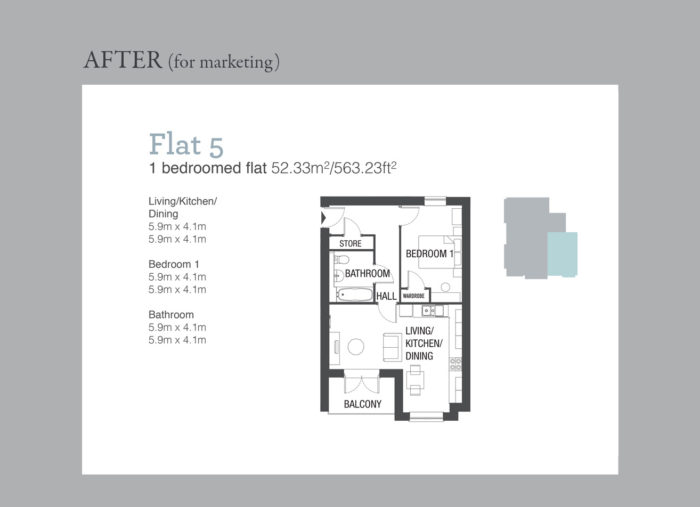 Property development marketing drawings
